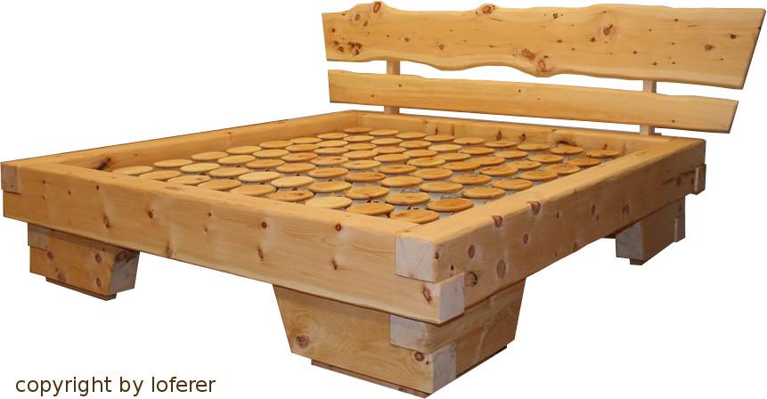 Zirbelkiefer Bett Vom Zirbenholzschreiner