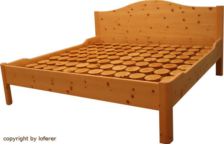 zirbelkiefer bett vom zirbenholzschreiner. Black Bedroom Furniture Sets. Home Design Ideas