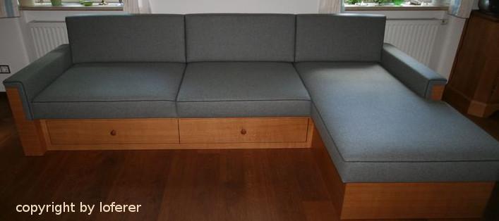 Couch vom Schreiner