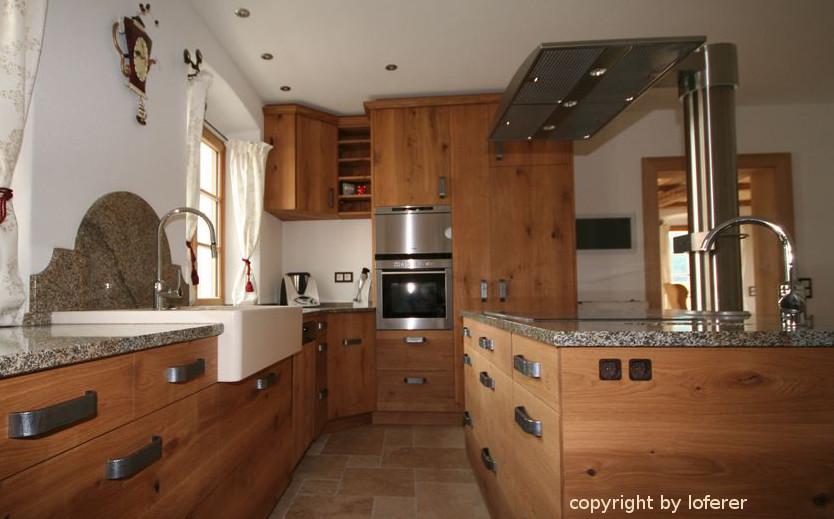 Eiche astig Küche