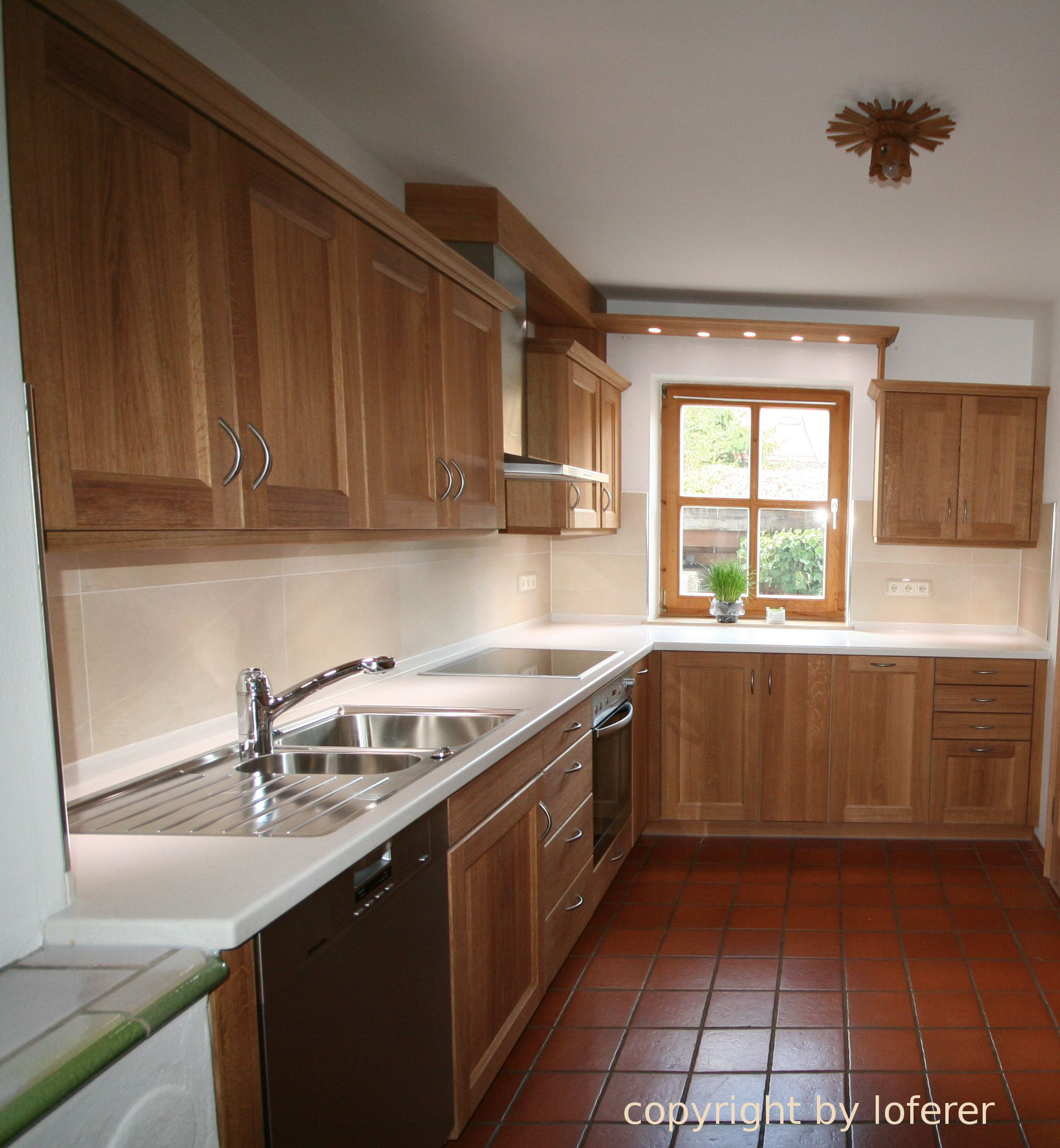 Eiche Küche küche eiche vom schreiner aus oberbayern