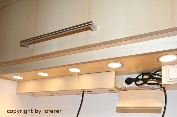 Küche Steckdosenlösung