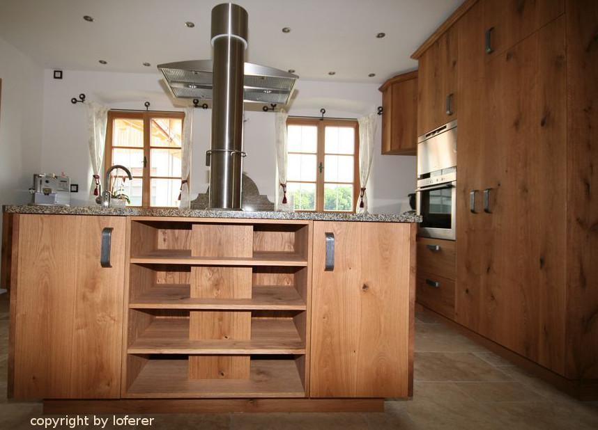 Küche in Eiche astig