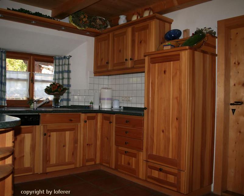 Kiefernholzküche