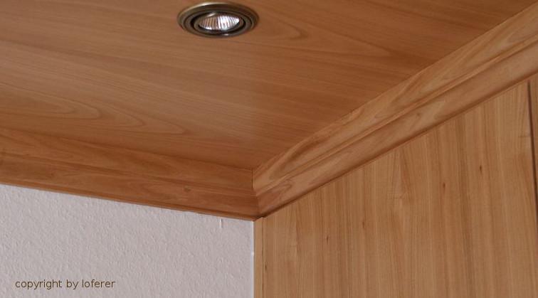 Holzdecke Kirschbaum