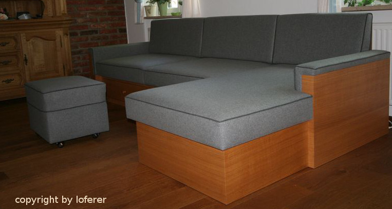Couch in Eiche