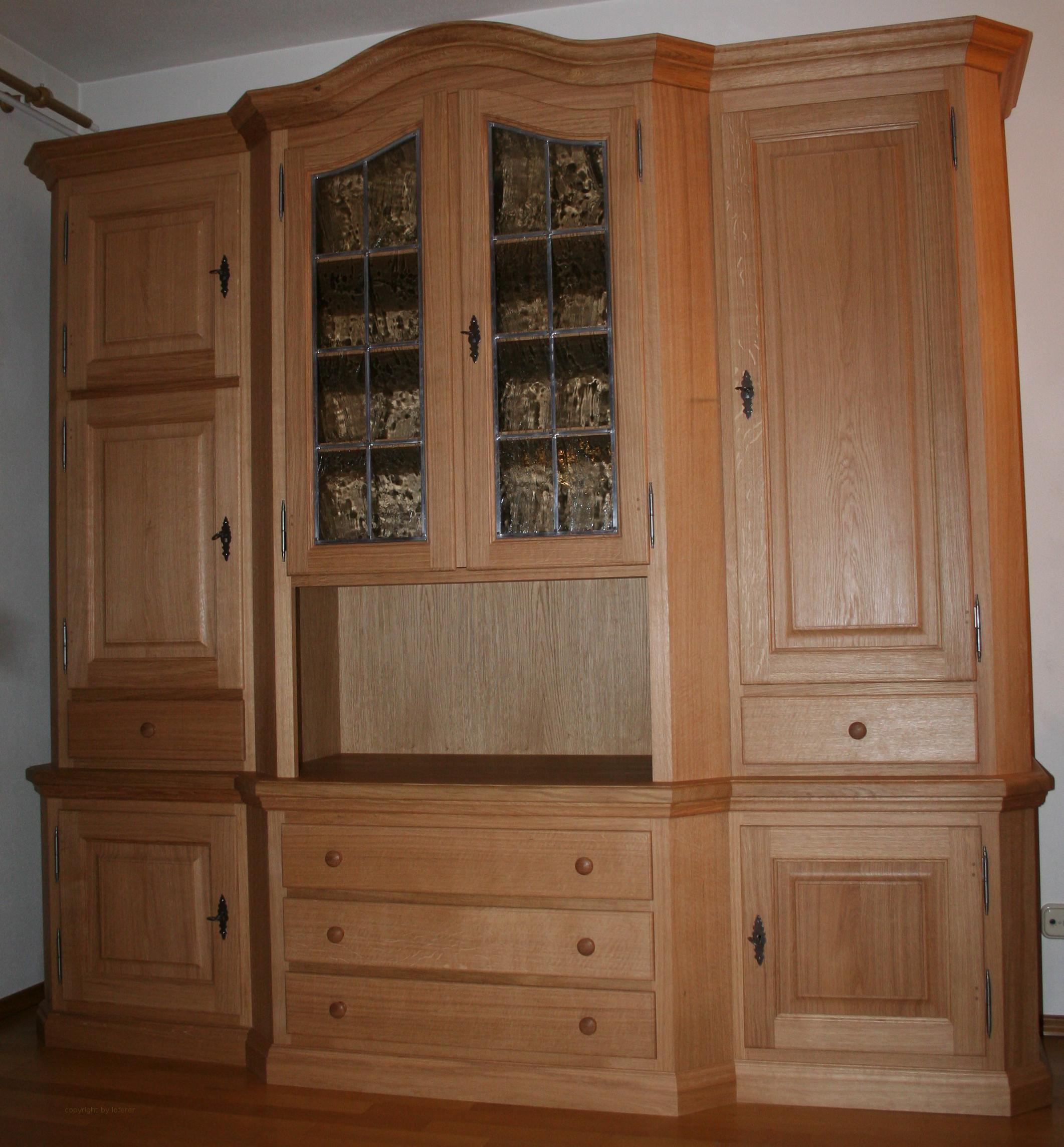 Eiche Wohnzimmerschrank